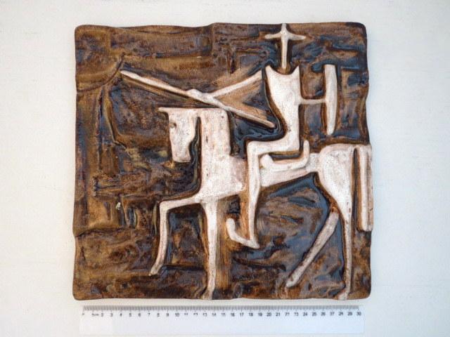 """פלק קרמיקה, """"אביר על סוס"""""""