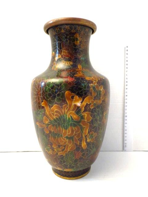 אגרטל קלוזונה דוגמת פרחים