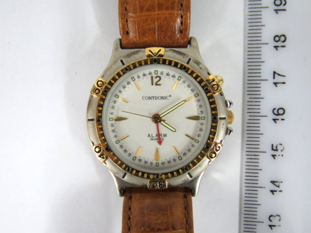 שעון יד תוצ Contronic, דגם שעון מעורר