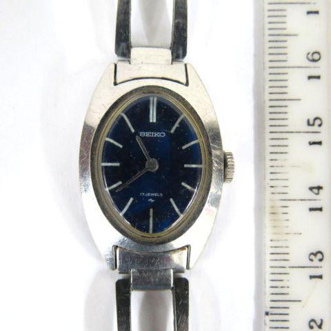 שעון יד תוצ Seiko, יפן קופסה וצמיד פלדה, לאישה