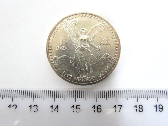 מטבע כסף מקסיקני, במשקל אונקיה כסף נטו