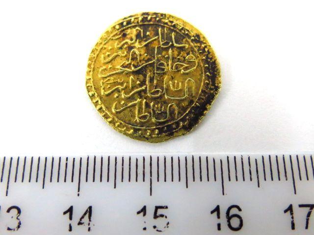 מטבע זהב עותמאני, מתוארך 1171 1757