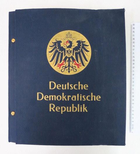 אלבום בולי גרמניה המזרחית חתומים, ערך קטלוגי מעל 5000 יורו Deutsche Demokratische Republik
