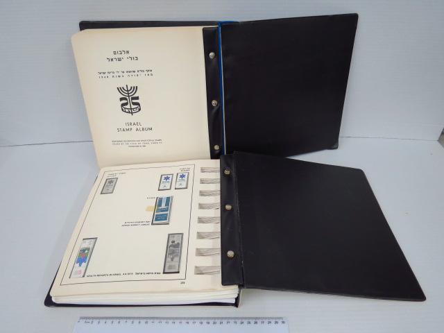 אלבום בולי ישראל 1948-1993 שני כרכים, עד 1964 עם בולים בודדים בלבד, רציף משנת 1964 עד 1993