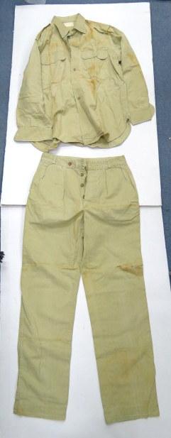 מדי חאקי, חולצה ומכנסיים תוצ' אתא, ישראל, שנות ה50