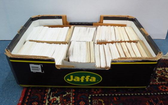 כמות מעטפות, יום הופעת הבול ישראל, שנות ה50 וה60, כולל כפולים, עם חותמות סניפי דואר שונים