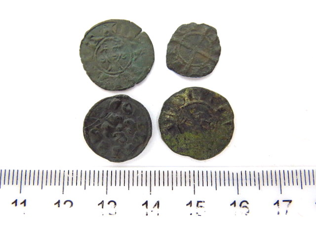 ארבעה מטבעות, ארץ ישראל שלטון הצלבנים