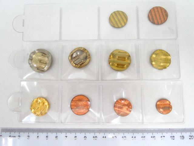 עשר מטבעות אירו מבוטלים offcial cancelation