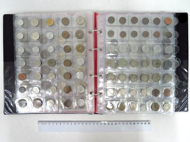 """אלבום מטבעות כל העולם צרפת, גרמניה, שוויץ, ברזיל, ארגנטינה, ארה""""ב וכו"""