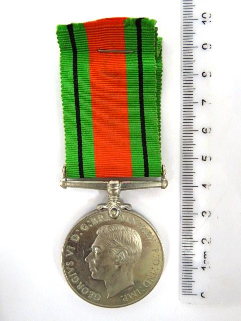אות צבא בריטניה The Defence Medal, 1939-1945