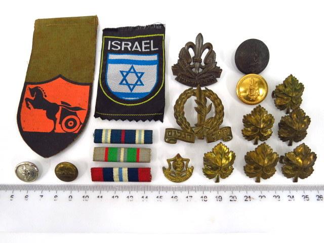 """שמונה עשר סמלים ודרגות צה""""ל, מ 1948 עד שנות ה70"""