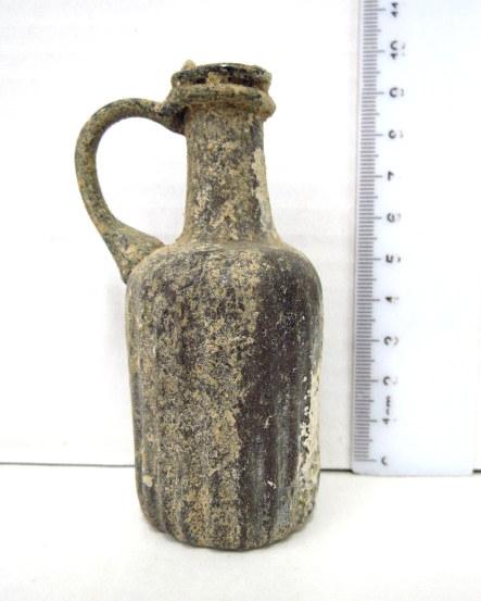 כד זכוכית קטן, תקופה ביזנטית המאה השישית לספירה