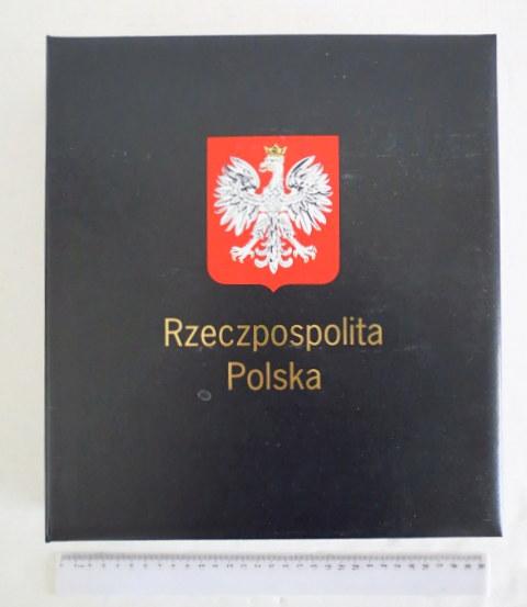 """אלבום בולים מקצועי Rzeczpospolita Polska תוצ Davo 3.11.2005-31.1.1995  (מק""""ט:2005 B5-1995-1) , שלם, מצב כחדש"""