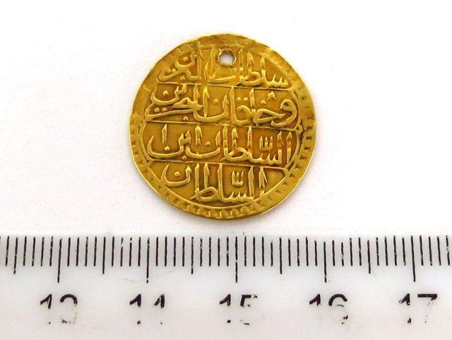 מטבע זהב עותמאני, Zermahbub 1203 (1788)