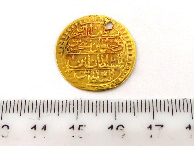 מטבע זהב עותמאני, Zermahbub 1223 (1808)