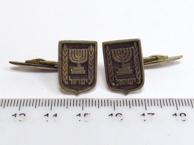 זוג חפתים עם סמל המדינה, ישראל, שנות ה50