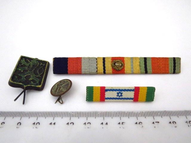 ארבע סיכות-סמלים, חייל ארצישראלי בשורות צבא בריטניה, מלחמת העולם השניה: אות המתנדב לבריגדה, אות מלחמת העולם השניה על אדמת אירופה, יחי' בריטית, סיכת חייל ארצישראלי בצבא בריטניה