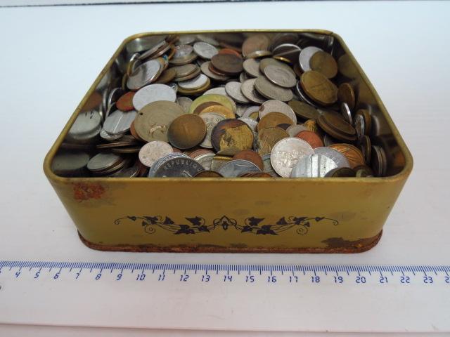 """לוט מטבעות כל העולם כ-2.5 ק""""ג"""