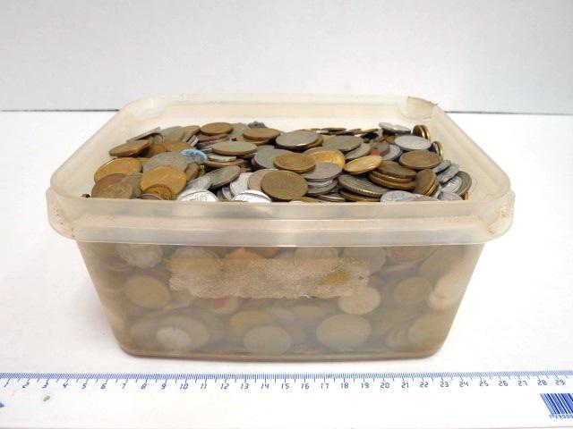 """לוט מטבעות ישראל שיצאו מהמחזור כ 6.5 ק""""ג"""