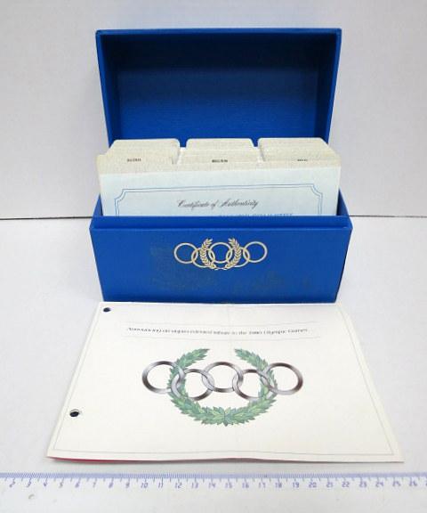 """אוסף מעטפות יום הופעת הבול רשמי של הועדה האולימפית הבינלאומית 1980, The International Olympic Committee Official First day cover collection, ס""""ה 47 מעטפות"""