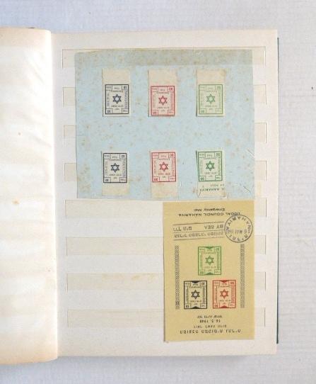 אוסף בולים, ישראל, 1948-1978 לא חתומים, לא שלם, לא רציף