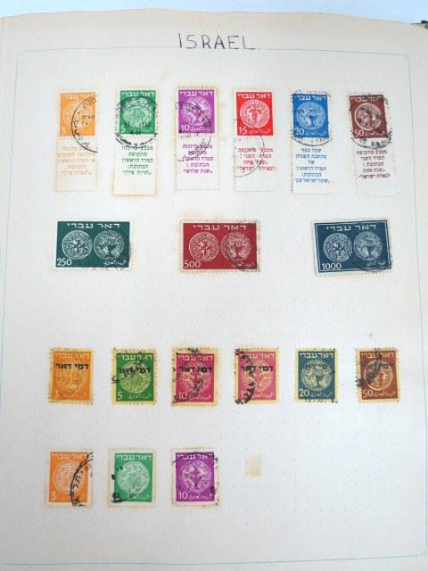 אלבום בולי ישראל, החל מבולי דואר עברי, 16.5.48, חתומים