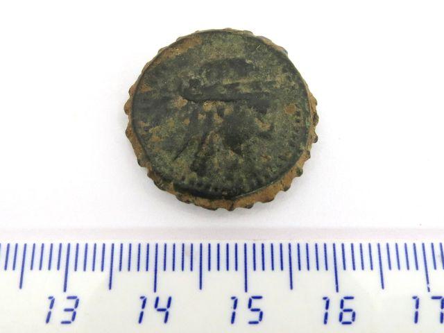 """מטבע ברונזה סלווקי, שלטון סלוקוס ה4 280 לפנה""""ס"""