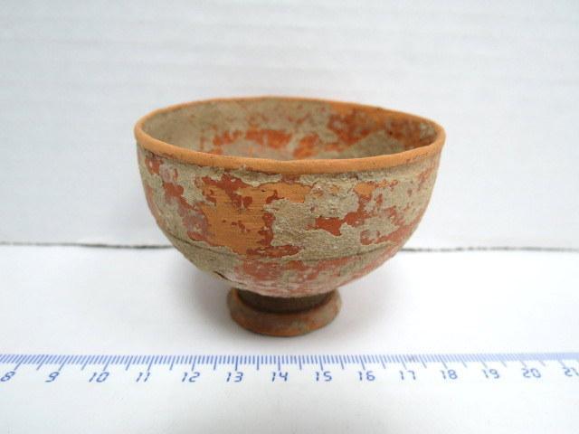 כוסית טרה קוטה, תקופה רומית המאה הראשונה לפני עד המאה הראשונה אחרי הספירה