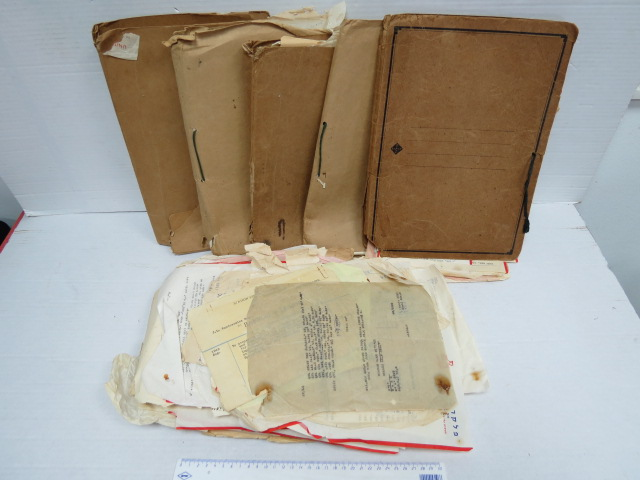 לוט גדול של תעודות ומסמכים של חב' פלקרמיק, שנות ה40-60