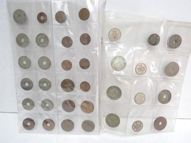שלושים וששה מטבעות מנדט 100 מיל (1935, 1939), 50 מיל (1927,1938,1939,1940,1942), 20 מיל (1927,1935,1942), 10 מיל (1927,1933,1934,1935,1937,1939,1940,1941,1941,1942,1943,1946), 2 מיל (5), 1 מיל (7)