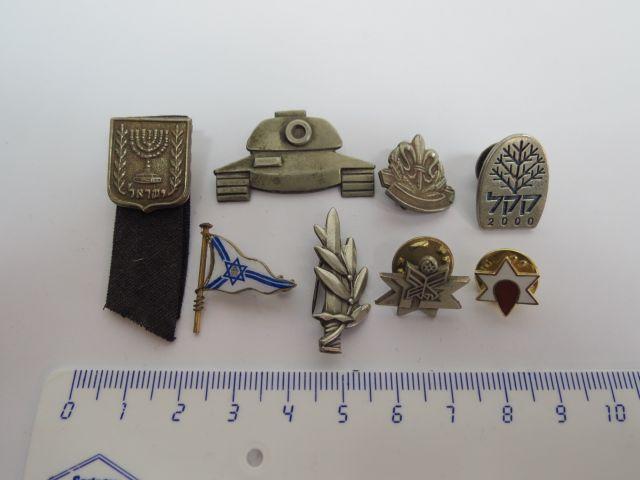 שמונה סמלים-סיכות, ישראל שנות ה50-80