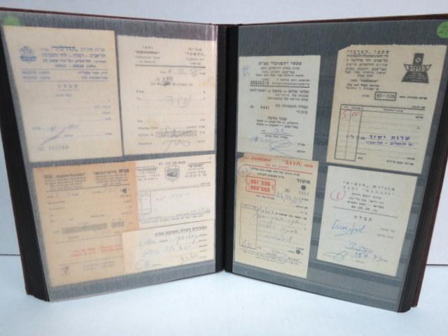 אוסף אמצעי תשלום, כולל מאות פריטי תחבורה, אוטובוסים, מוניות ורכבות, קוים פרטיים, שנות השלושים ואילך