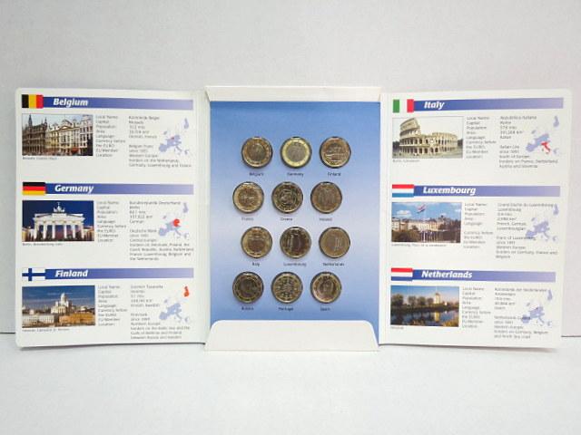 """סט פרוף של מטבעות Euro 1999-2002 ס""""ה של 12 ארצות"""