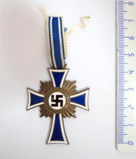 אות צלב האם, גרמניה, חתום 1938 Mutter Kreuz