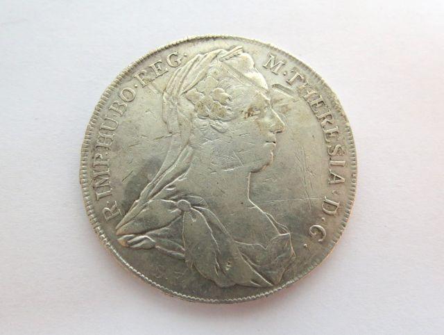 מטבע כסף, טאלר מריה טרזיה 1780 מצב VG