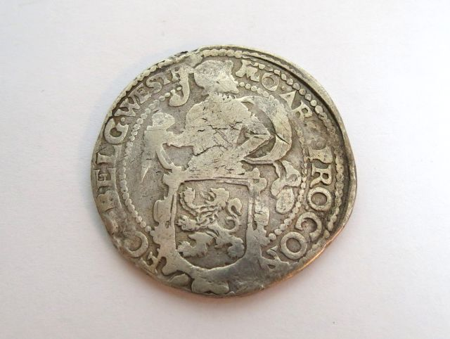 מטבע Lion Dollar (טאלר כסף) הולנד, 1629, מצב VG