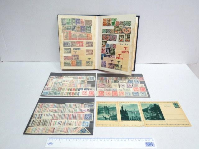 אוסף בולי גרמניה, סדרות מלאות חתומות וחדשות, באלבום בולים חובבני, מצב מצויין, שנות מלחמת העולם השניה ואילך