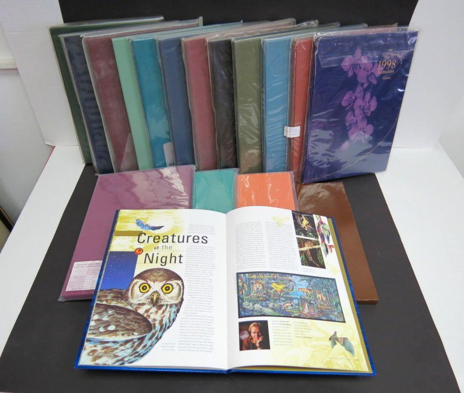 אוסטרליה 1981-1998 אוסף 17 שנתוני בולים (ללא 1988)