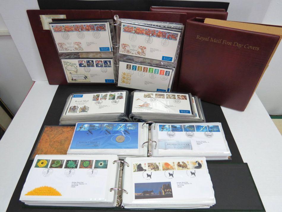 בריטניה, 1980-1988 אוסף מעטפות יום ראשון בששה אלבומים