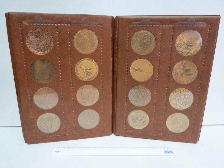 אלבום עם 47 מדליות ברונזה