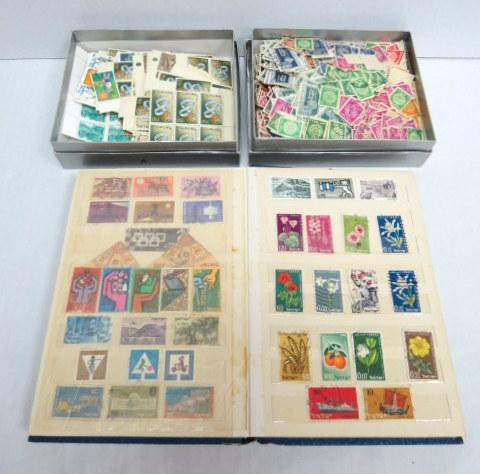 לוט בולי ישראל, דואר עברי ושנות ה50, בשתי קופסאות ואלבום