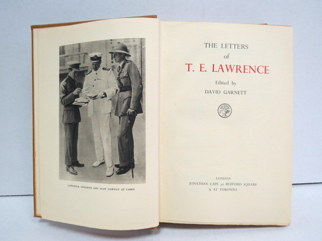 The Letters of T.E. Lawrence London 1938