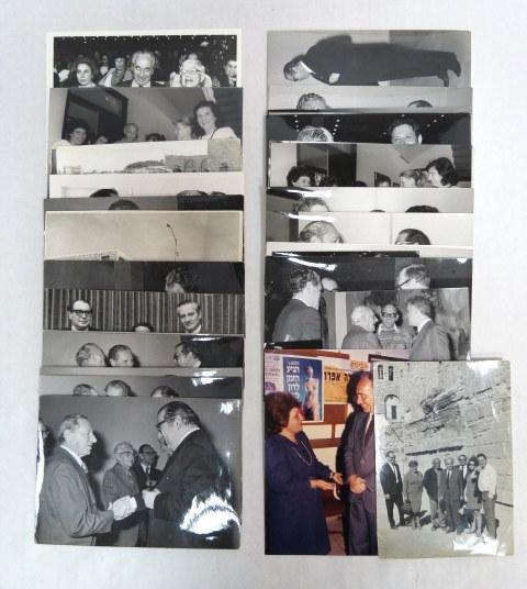 לוט צילומים, פוליטיקאים ישראלים עם אורחים, שנות ה60-90