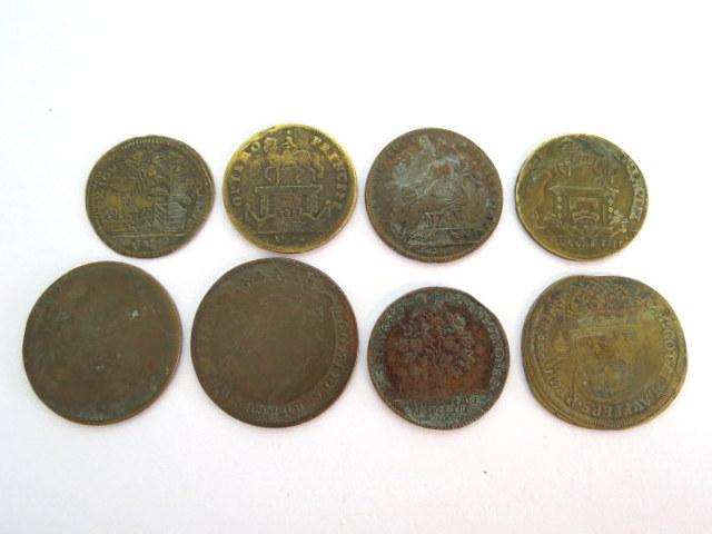 שמונה אסימונים, צרפת המאה ה18 לואי ה-14, ה-15, ה-16