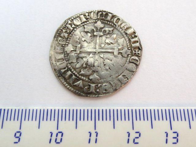 מטבע כסף, צרפת, פרובאנס שלטון Robert de Anjou 1303-43, מצב VF