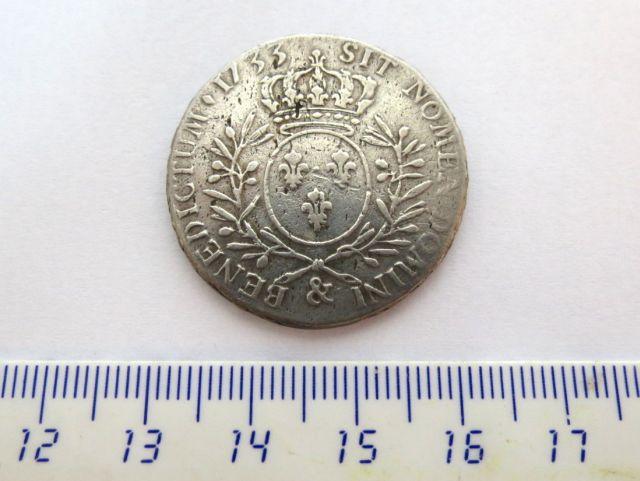 מטבע כסף, צרפת, שלטון Louis 15, 1733