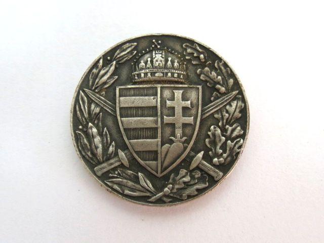 מדליה לזכר מלחמת העולם הראשונה 1914-1918, הונגריה