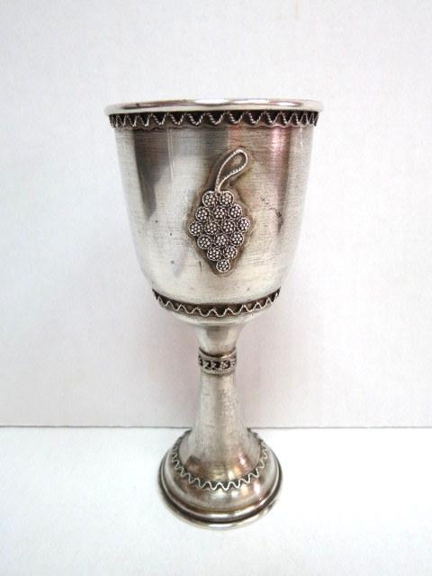 גביע לקידוש, כסף עם פיליגרן 92 גרם