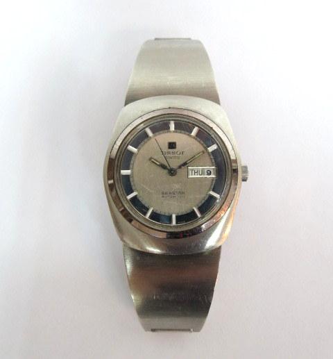 שעון יד תוצ Tissot, שוויץ מנגנון אוטומטי, דגם Seastar, מצב יפה