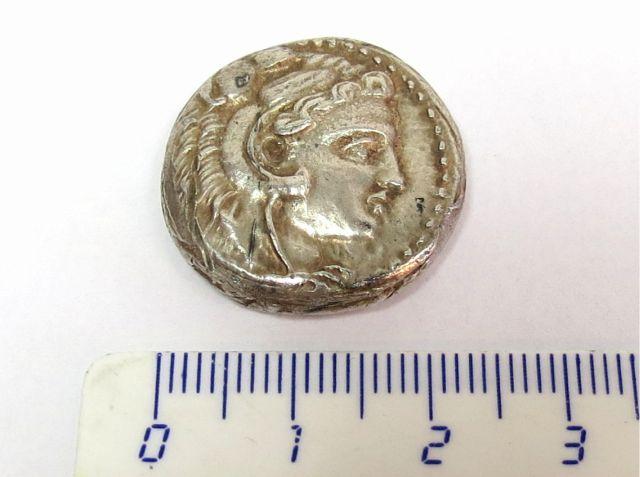 מטבע טטרדרכמה, מקדוניה אלכסנדר ה-III, מצב EF